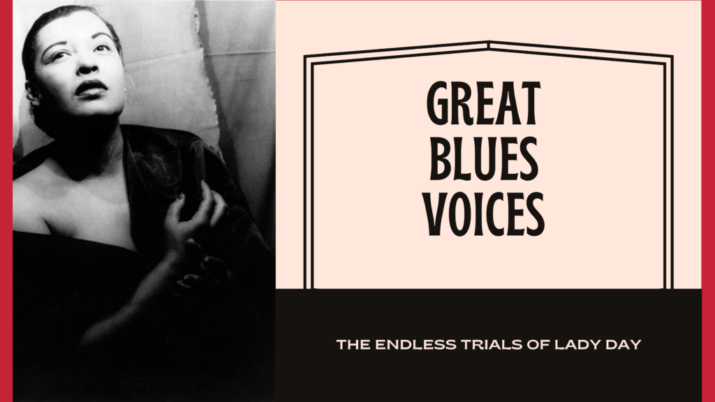great blues voices billie holiday