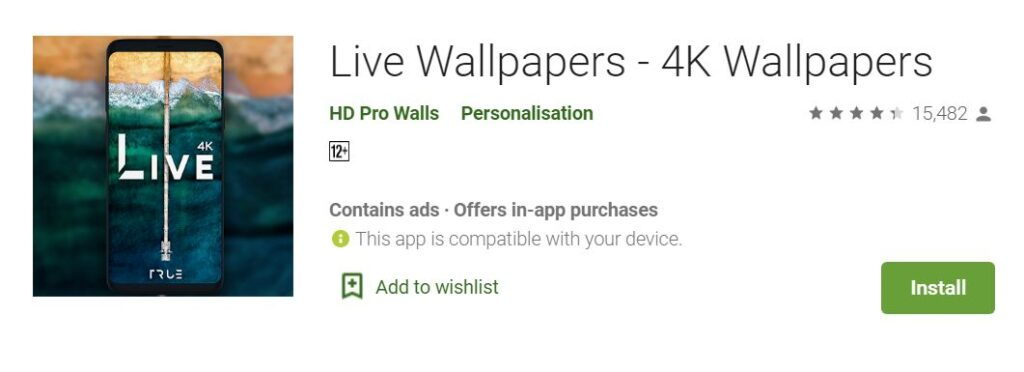 4K Wallpaper Apps