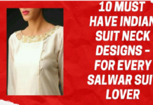 Indian Suit Neck Designs