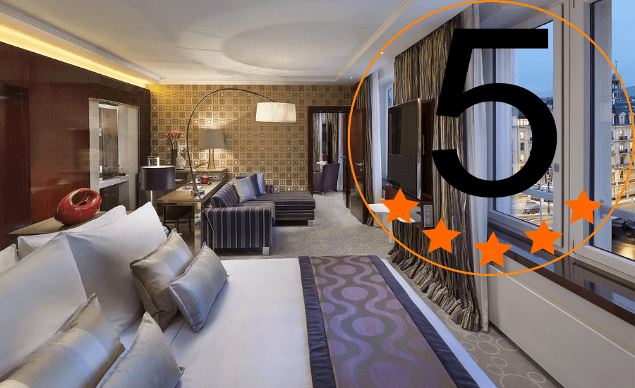 WHAT IS THE STAR RATING SUGGESTS ABOUT HOTELS?