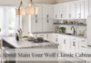 Tips About Stain Your Wolf Classic Cabinets