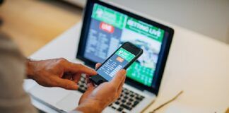 mobile betting application