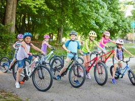 Kids Riding Safety