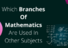 Mathematics branches