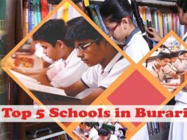 top 5 schools in burari