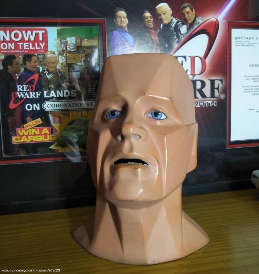 Red Dwarf Kryten Spare Head