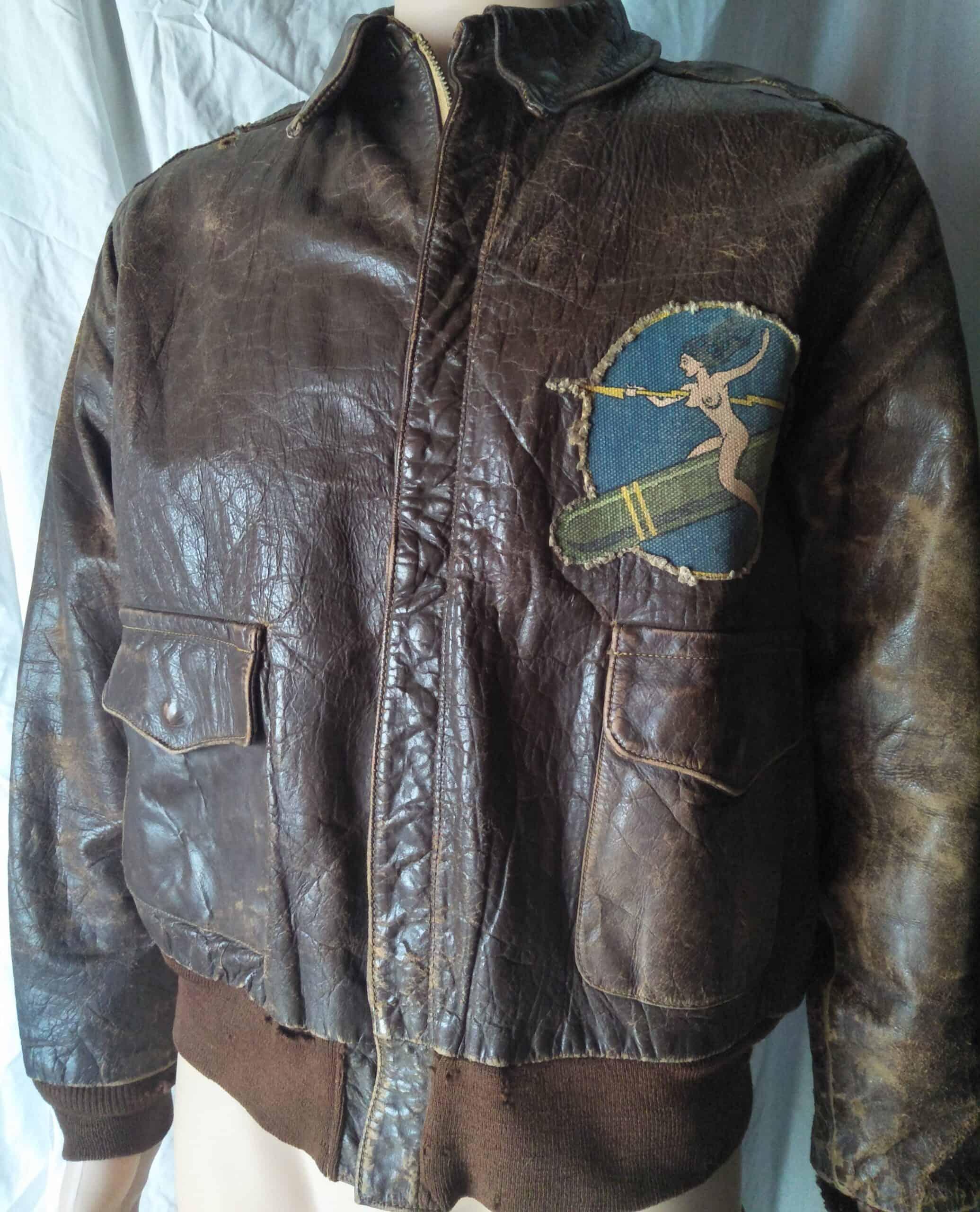 Original WWII bomber jacket - Screen worn in Catch-22 (1970)