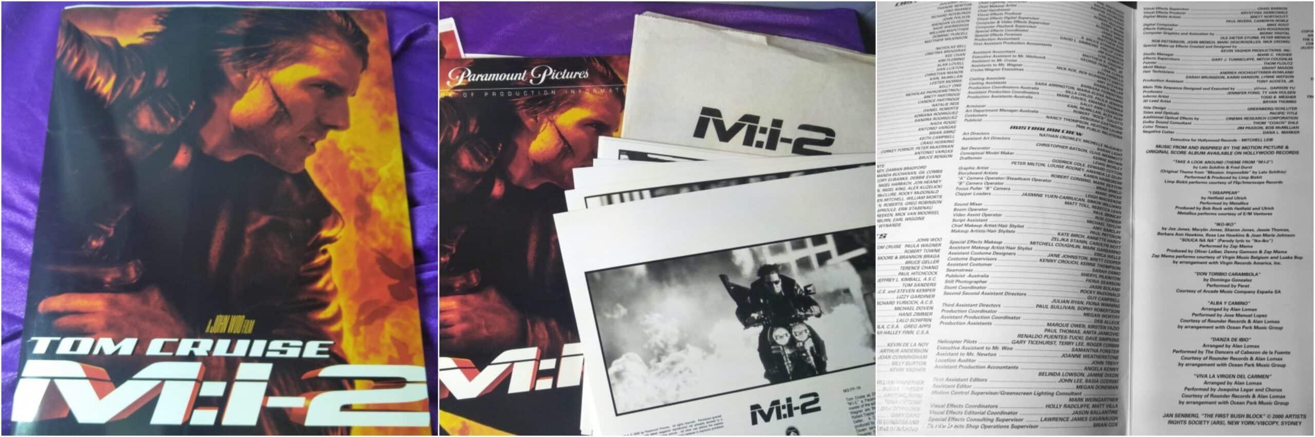 M:i-2 Press Kit Mission:Impossible-2