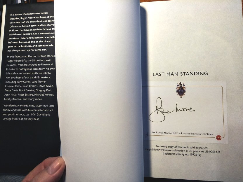 Last Man Standing. Roger Moore