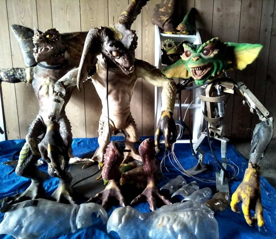 Gremlins Theme Park Props