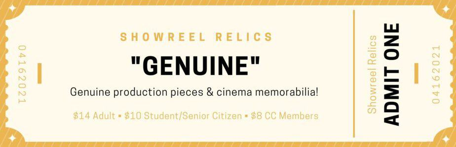 """Welcome to """"Showreel Relics"""""""