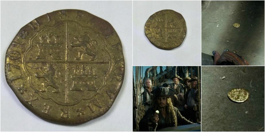 """A Guide To """"Pirates of the Caribbean"""" Screen Used Treasure"""