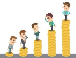 aumento de salário