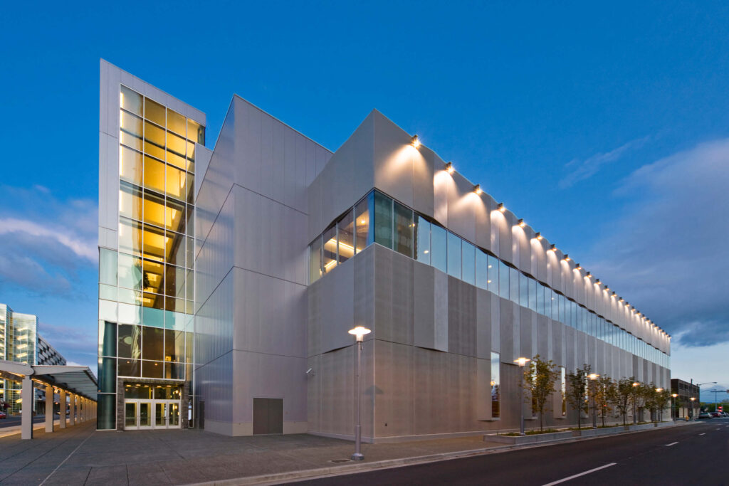 The Dena'ina Civic and Convention Center in Alaska