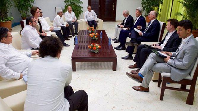 John Kerry en La Habana