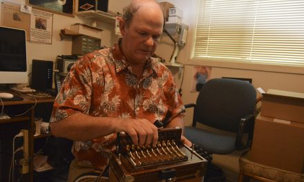 'Ca c'est Cajun, oui?' Jude Moreau mastered the accordion, inside out