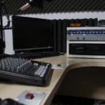 radio, studio, sound