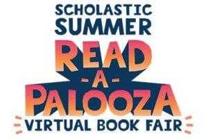 Scholastic Summer Read-A-Palooza Virtual Book Fair Logo