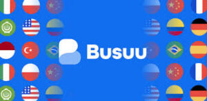 link to Busuu language learning app information