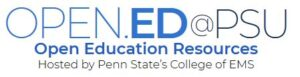 link to Penn State University's Open Education Resources