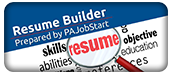 link to a fill-in-the-form resume builder from PA Job Resources
