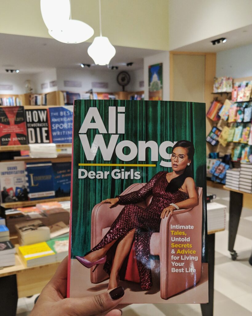 Ali Wong Dear Girls Book