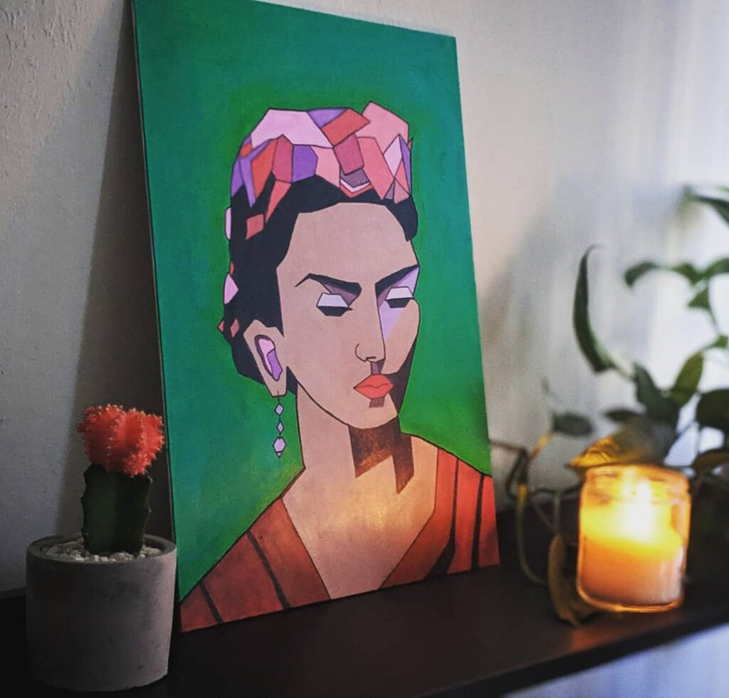 Frida Kahlo Painting canvas art