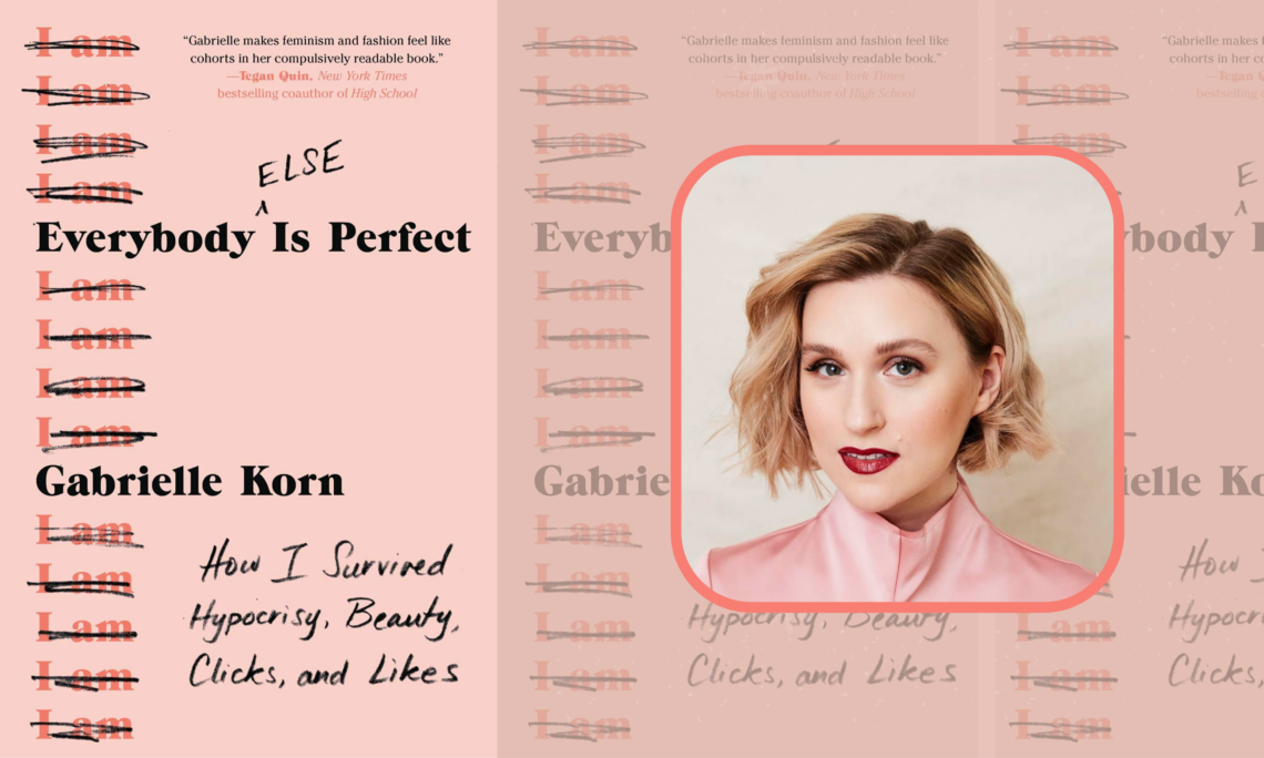 Everybody Else Is Perfect Gabrielle Korn book review and author interview