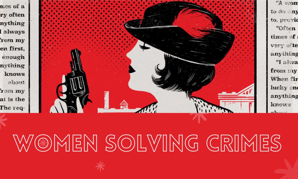 Literary Female Women Detectives Books Reading blog