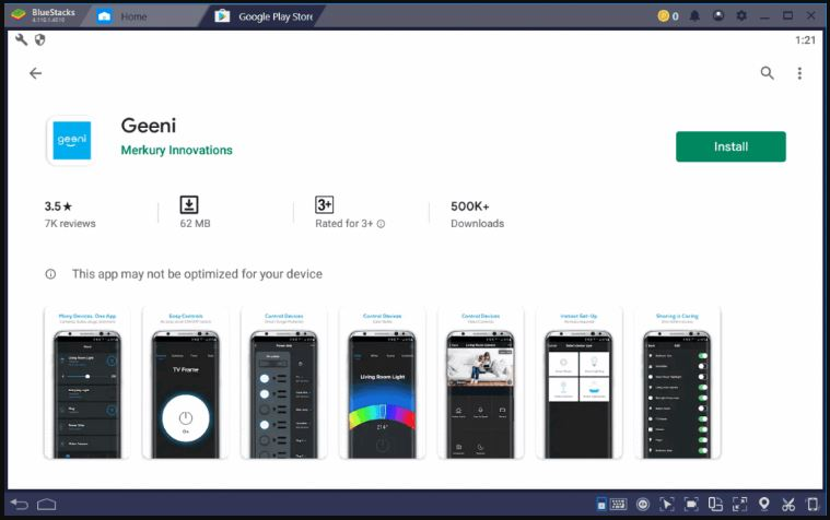 How to Download and Install the Geeni app for PC