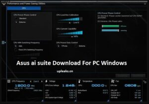 Asus ai suite For PC Windows