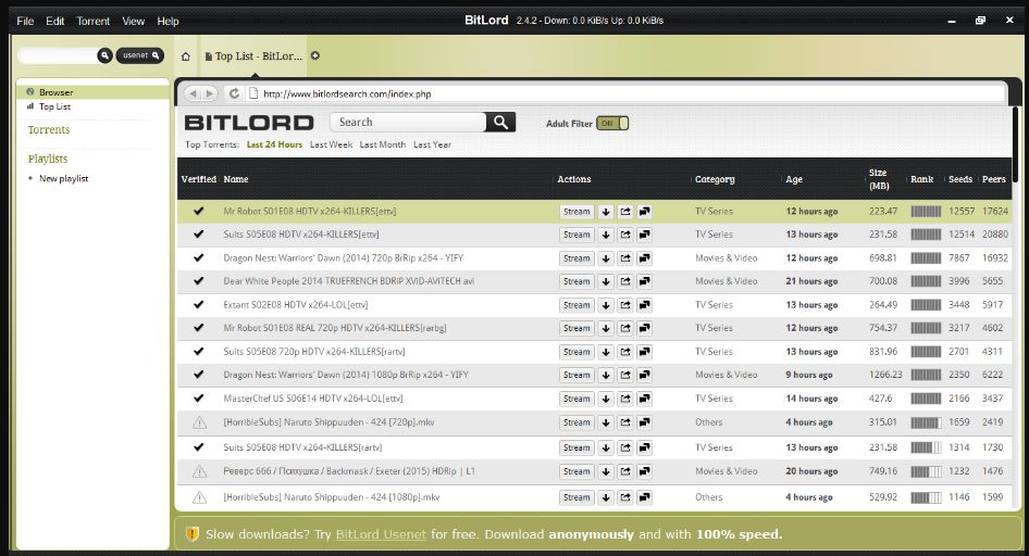 BitLord For PC Windows