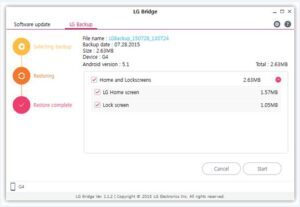LG Bridge download for pc