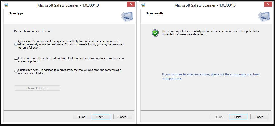 Microsoft Safety Scanner Download For PC Windows