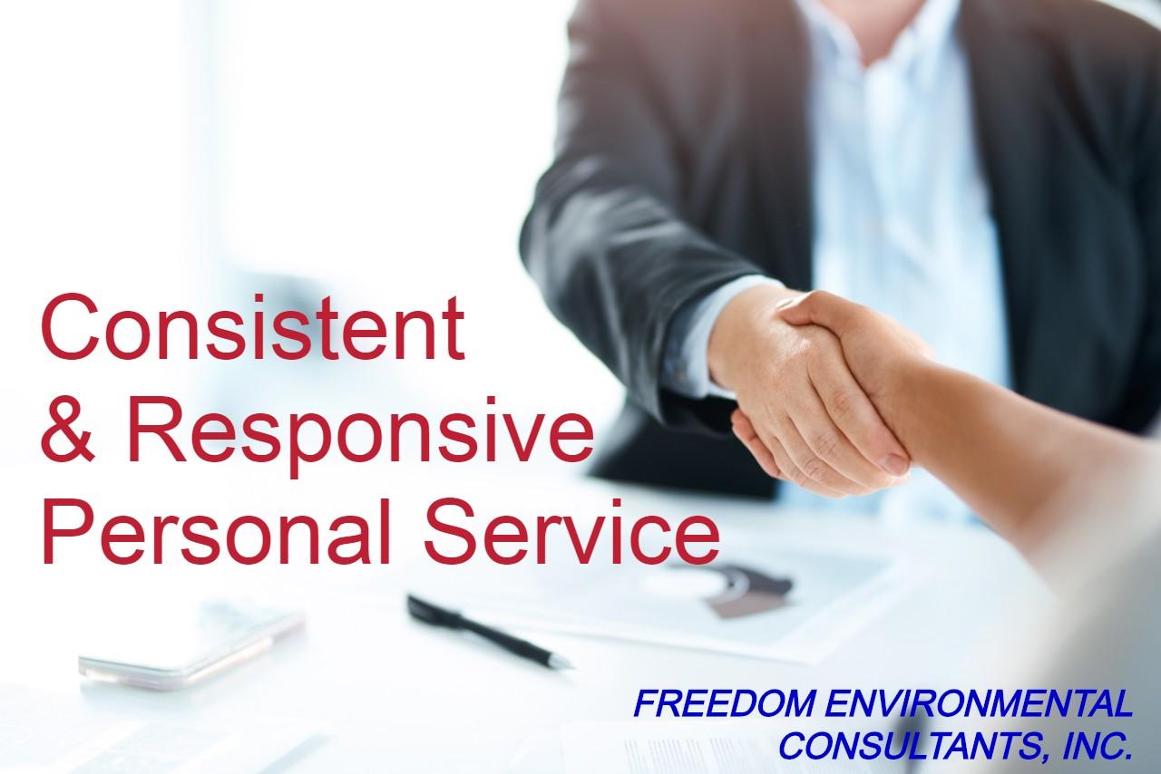 Consistent & Responsive Service