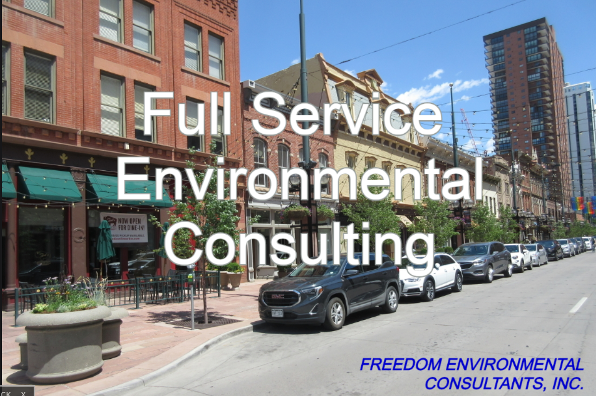 Full Service Environmental Consulting