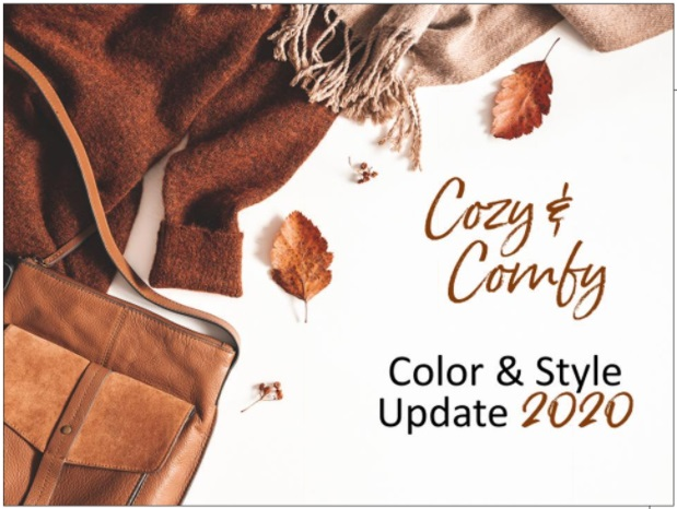 Fall 2020 update Cozy & Comfy