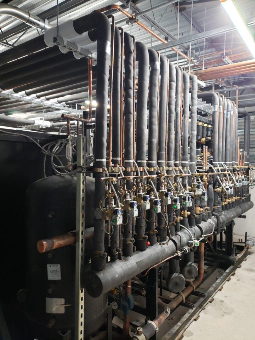 Field Fabricated Suction, Liquid, & Hot Gas Headers