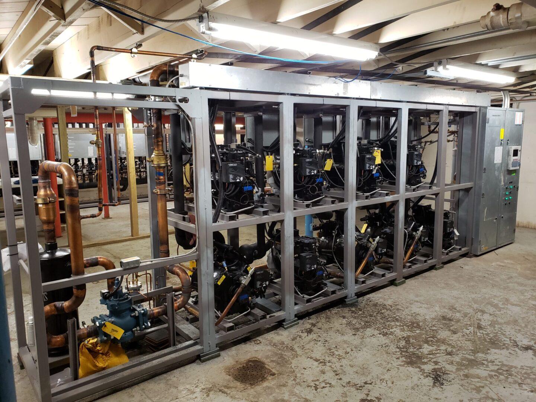 Kysor Warren Custom-Built Split Parrallel Rack System (2)