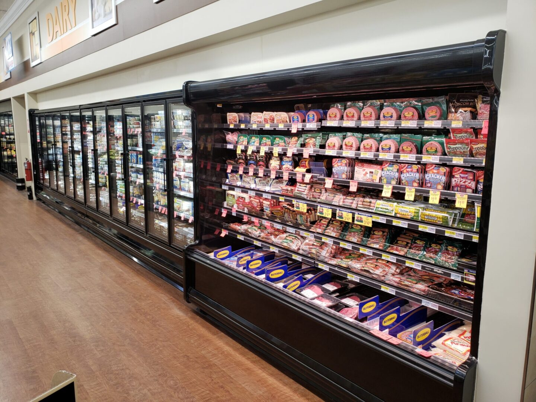 Kysor Warren MX6HN 8' Fresh Meat & DN6LD 24' Dairy