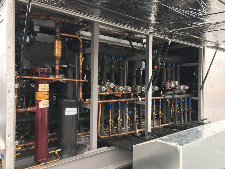 Kysor Warren OHS Outdoor Split-Temperature Parallel Rack System (2)