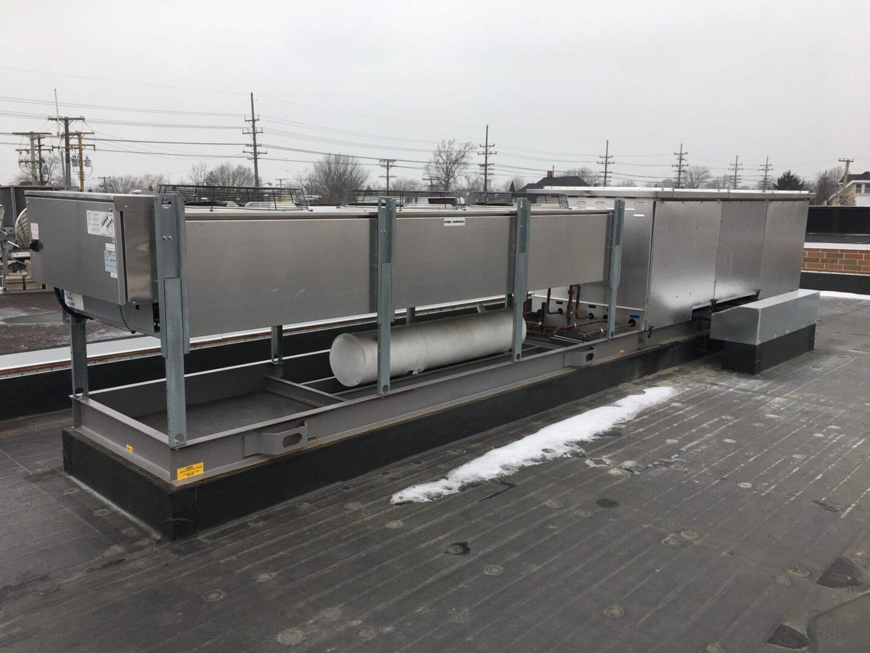 Kysor Warren OHS Outdoor Split-Temperature Parallel Rack System