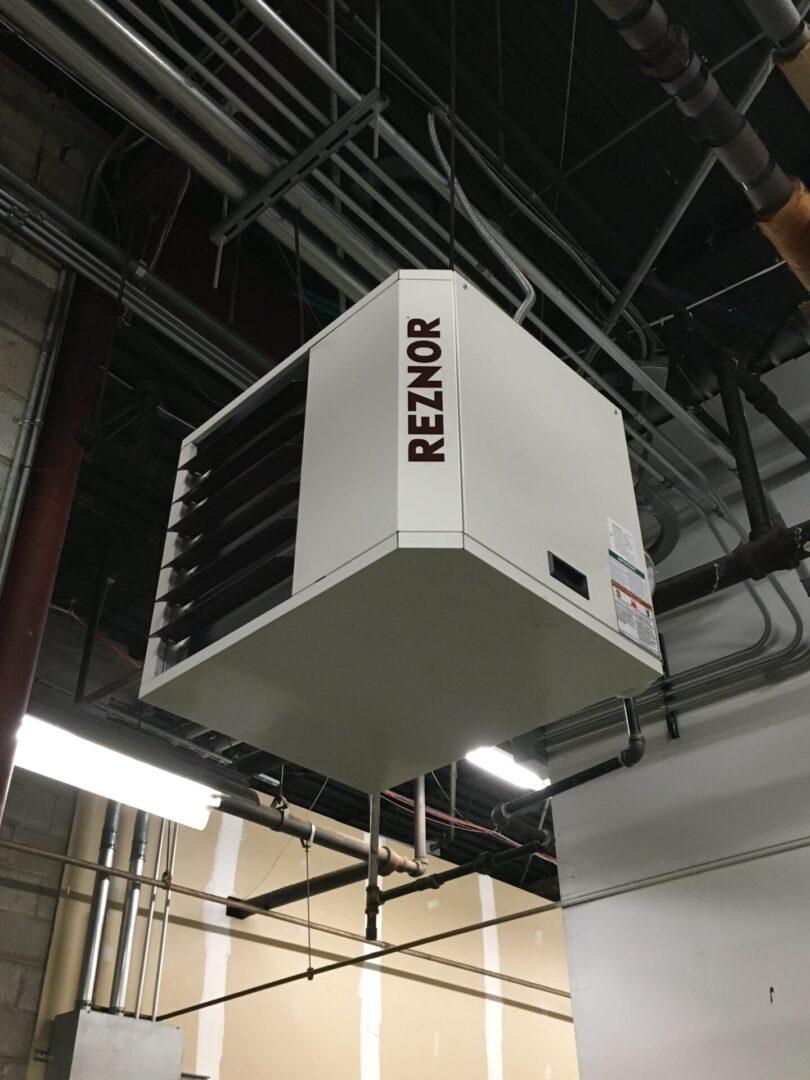 Reznor UDAP-125 Gas Fired Dock Heater