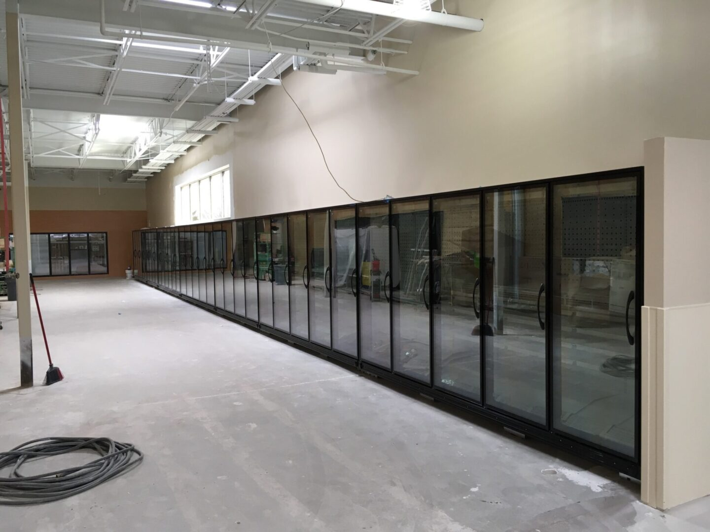 Zero-Zone RVLC 19drs of Frozen Food & RVMC 10-French Doors of Dairy & RVMC 6drs of Produce