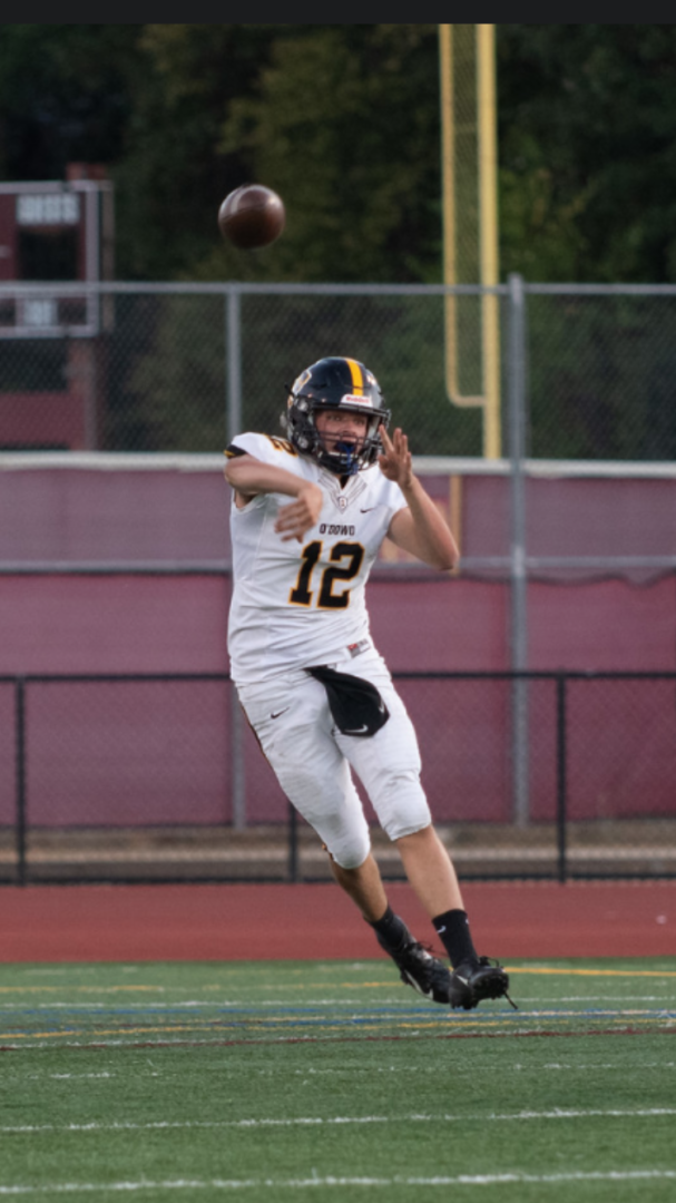 Jesse Madden holds a preferred walk-on offer from Michigan. Photo courtesy of Bishop O'Dowd Football