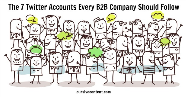 The 7 Twitter accounts every B2B company should follow