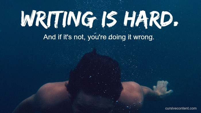 writing is hard or you're doing it wrong f. scott fitzgerald on writing cursive content