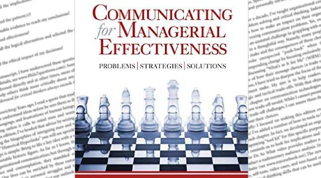 Communicating for Managerial Effectiveness