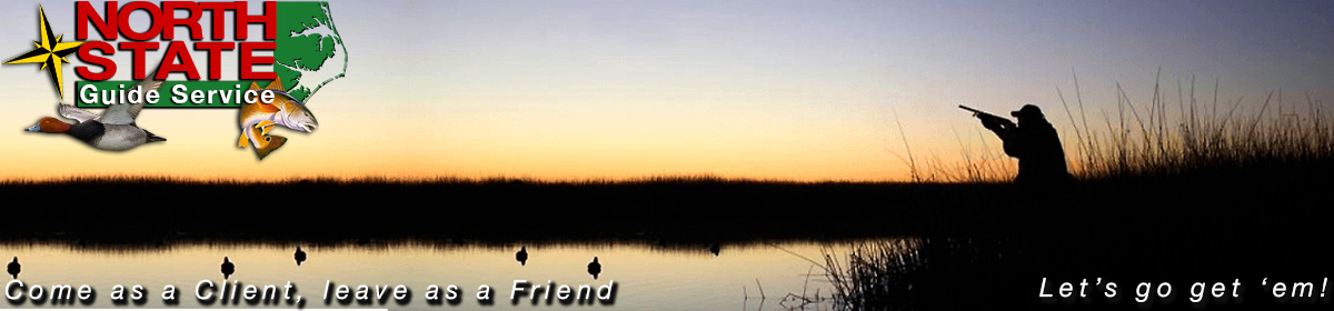 NC Fishing & Duck Hunting Guide   North State Guide