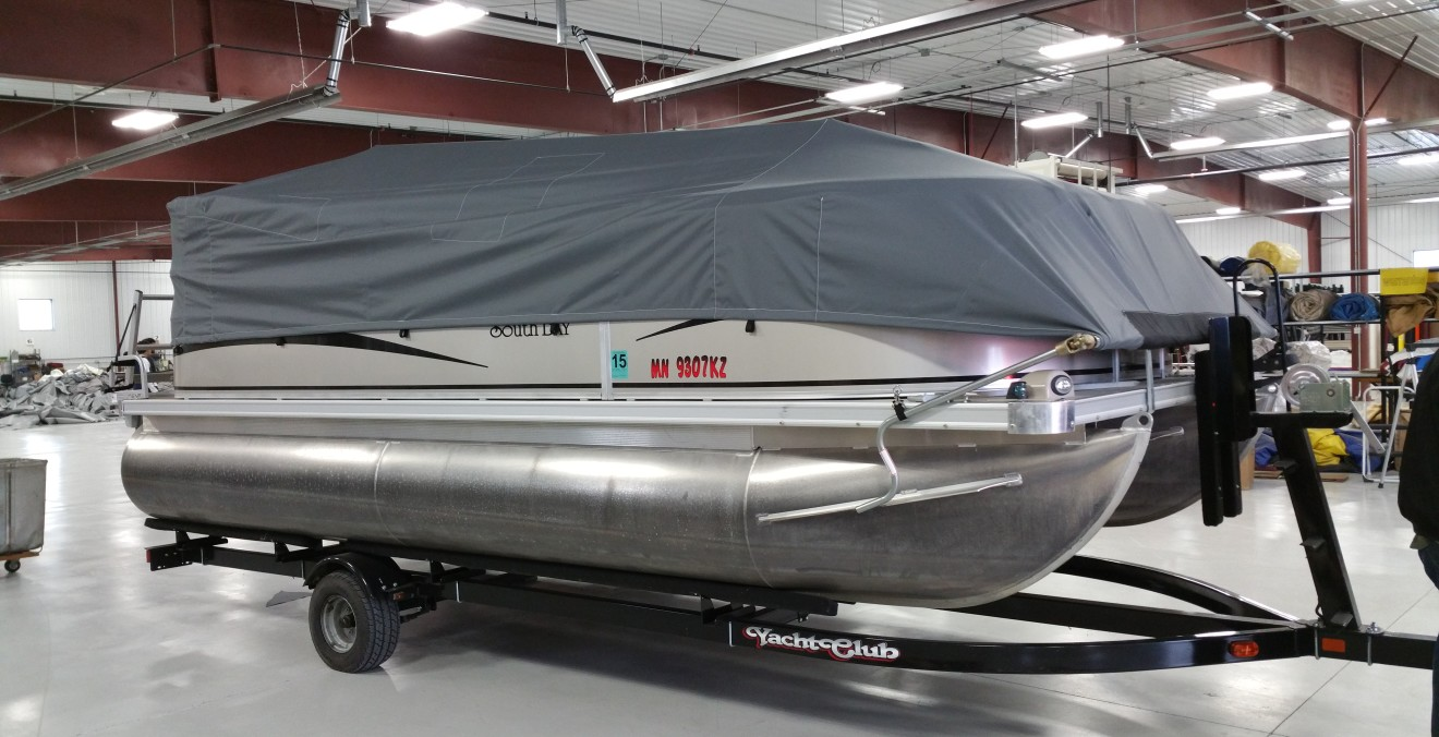 Side-Winder Pontoon Roll Covers in Fargo